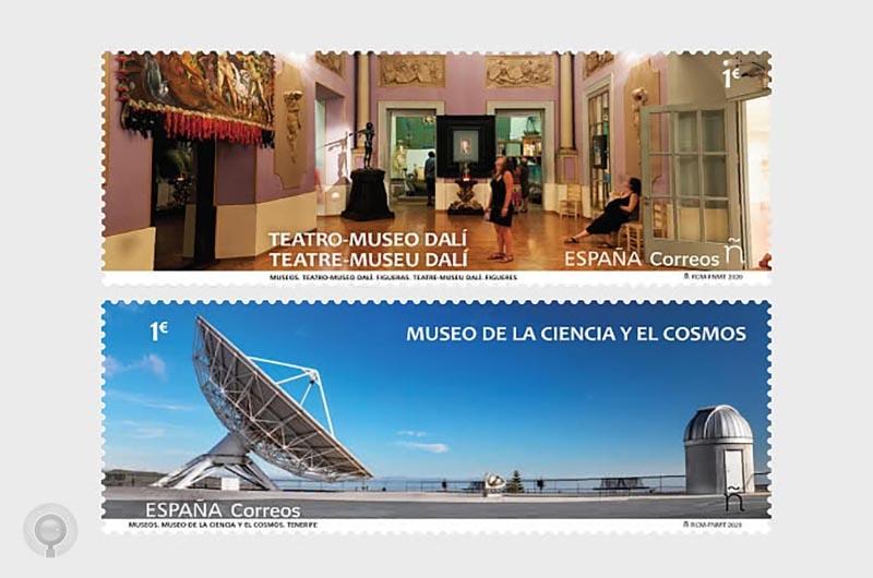 西班牙3月23日发行博物馆系列邮票