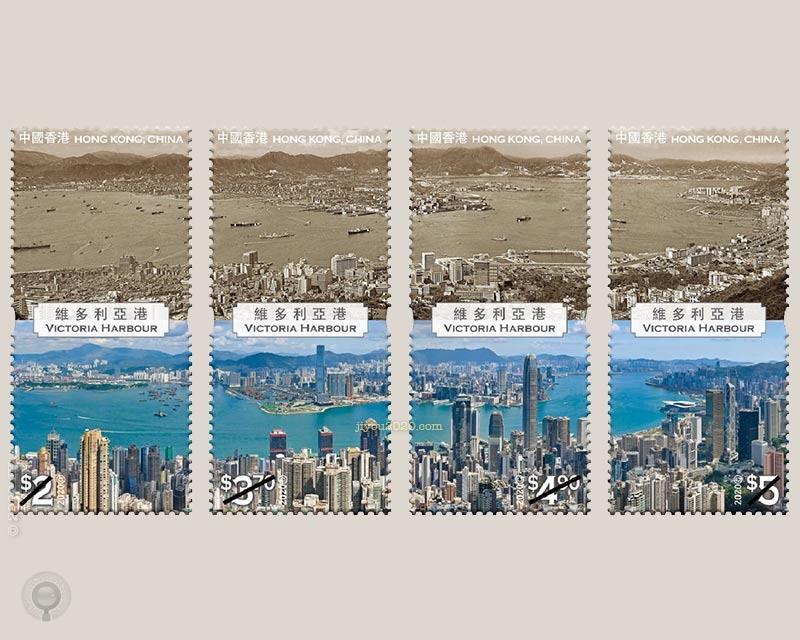 9月29日《香港今昔系列:维多利亚港》邮票原地谈