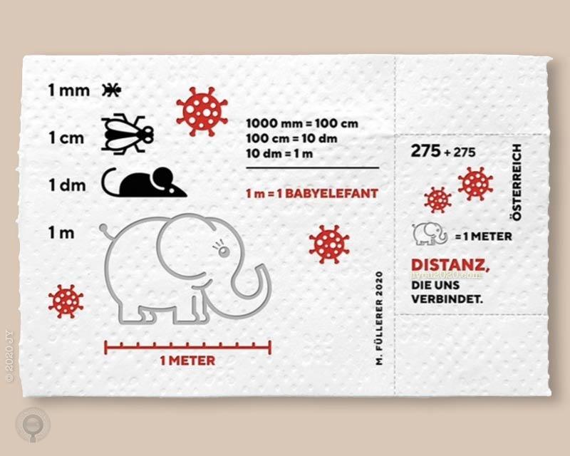 """奥地利发行厕纸材质""""新冠""""附捐邮票小型张"""