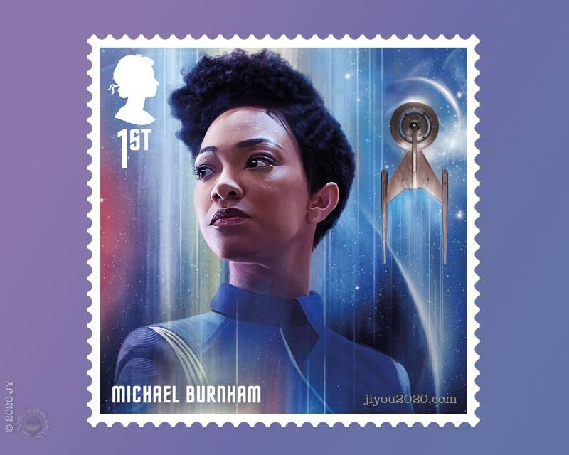 英国11月13日发行《星际迷航》邮票